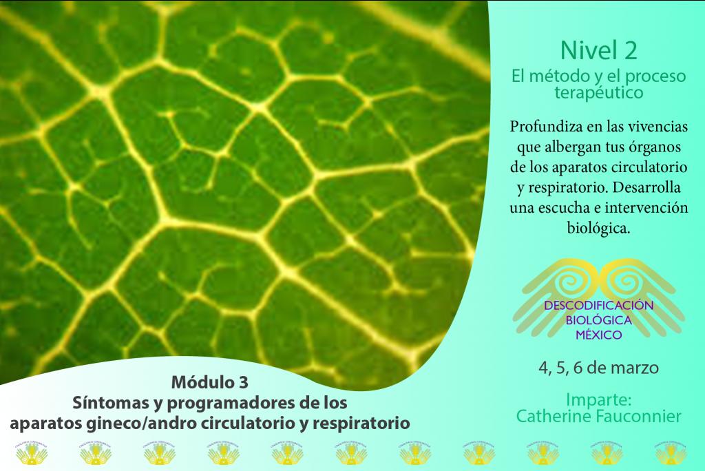 Módulo 3/ nivel 2 Descodificación Biológica México