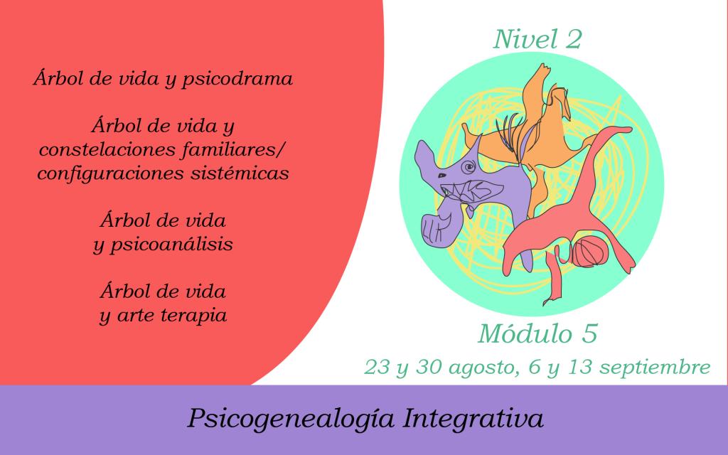Módulo 5 sobre el árbol de vida y distintas corrientes terapéuticas